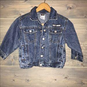 Harley Davidson Jean jacket.